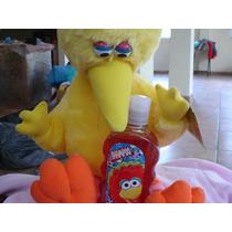 Big Bird De Plaza Sesamo + Shampoo Nuevo Vjr