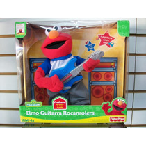 Elmo Guitarra Rocanrolera Plaza Sesamo Fisher Price