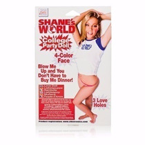 Shane´s World Muñeca Inflable College Párty Doll