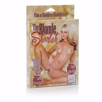 The Blond Starlet Muñeca Inflable Realista.