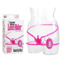 Cal Exotic 7-function Silicone Love Rider Arnes Clitoridiano