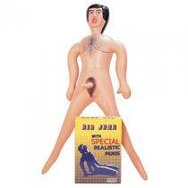 Muñeco Inflable Big John Con Dildo Pene Realistico