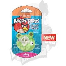 Juguete Para Gatos De Angry Birds Cabezas Con Catnip Rgl