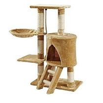 Mueble Para Gato Con Escalera Y Hamaca 96 Cm Jlp