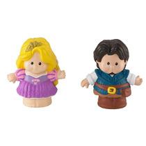 Rapunzel Y Flynn Little People Princesas Disney Fisher Price