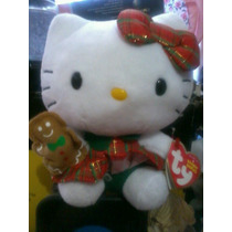 Peluches Hello Kitty Navidad Original Ty