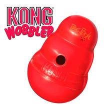 Kong Wobbler Grande Juguete Ejercitador Alimentador Perros