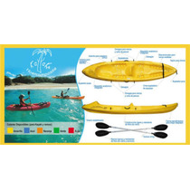 ¡promo! Kayak Sitontop 2-3 Pers Rio, Lago, Mar Super Estable