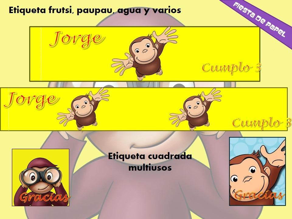 Tarjetas De Cumpleaños De Jorge El Curioso Imagui