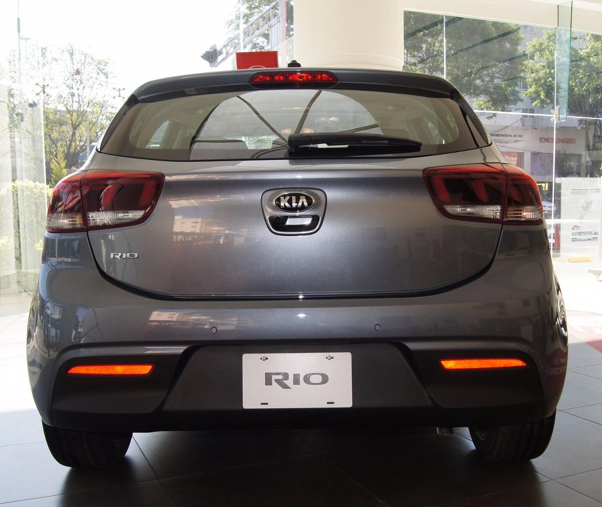 Kia Rio Hatchback 2018 A 241 O 2017 0 Km En Mercado Libre