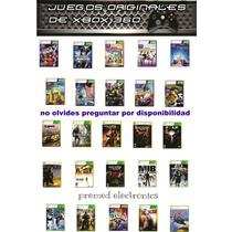 Juegos Xbox 360 Ntsc Nuevos Sellados Usa Envio 100 -1 Dia
