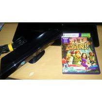 Sensor Kinect Para Tu Xbox 360 Con Kinect Adventures