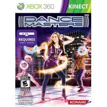 Dance Masters Xbox 360 Kinect Nuevo Sellado Original Au1