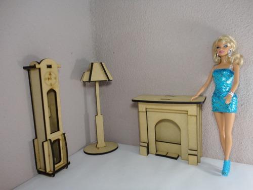 Cómo hacer muebles para barbie - Imagui