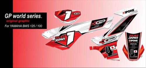 Kit De Calcamonias Para Yamaha Bws 125 O 100