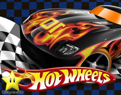 Tarjetas Invitación Hot Wheels Imagui
