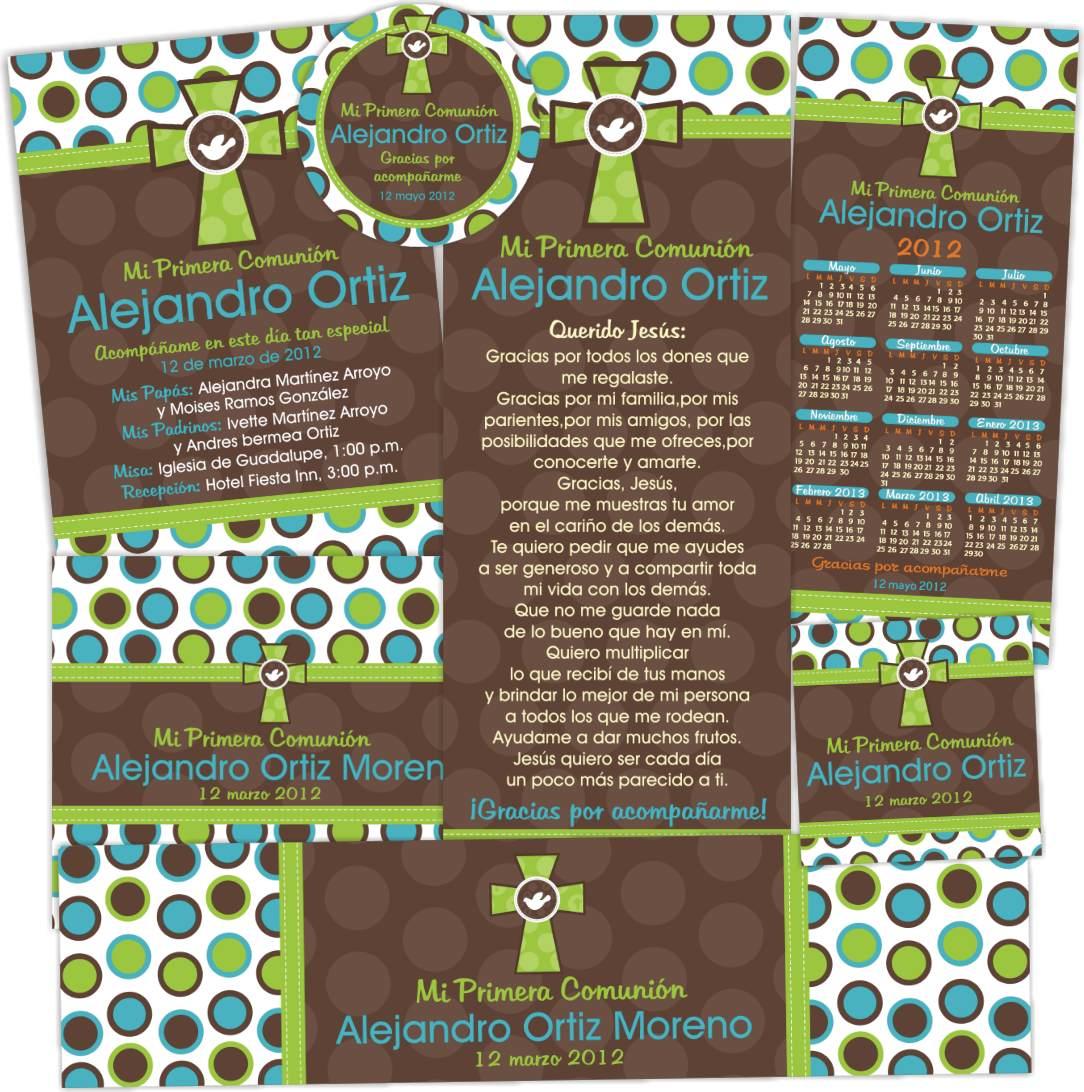 Invitaciones de primera comunion imagui - Como hacer tarjetas para comunion ...