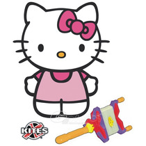 Hello Kitty Papalote Kite 1.21 Mts ! Super ! Completo !