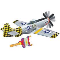 Papalote 3d Kite Avion Mustang P51 Con Todo Varios Modelos
