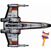 Papalote X Wing Fighter Star Wars 1.32 Mt Rebobinador Hilo