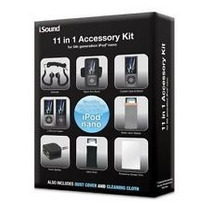 Paquete Kit De Accesorios 11 En 1 For Ipod Nano Atomgames!!