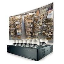 Paquete De Vigilancia Kit Samsung Techwin Nvr Poe 16 C Ctd3