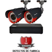 Kit De 2 Camaras De 700 Tvl Varifocales Vision Nocturn 35mts