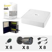 Kit 8 Camaras Alta Resolucion Sony Cctv Internet Cctv