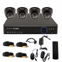 Sistema De Cámaras De Vigilancia Ouku 4 Canales 960h