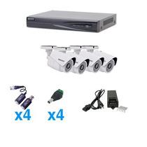 Epcom Kit Sistema Turbohd 1080p, 4 B8turboxw