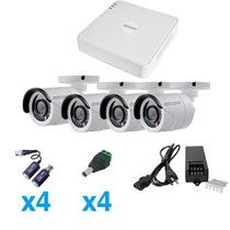 Sistema Turbohd 720p De 4 Canales Incluye 4 Hrb900w