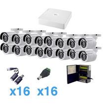 Sistema Turbohd 720p De 16 Canales Compatible Con P2p.