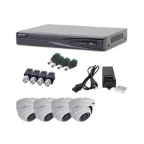 Kit Epcom Turbode84 Dvr Ev1004 Y 4 Cam Domo E8 Turbo 1080p