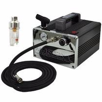 Compresor De Aire Compacto Profesional Aerografo Master