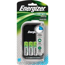 Energizer Cargador De Pilas Aa/aaa Con 4 Pilas Aa Ch15mncp4