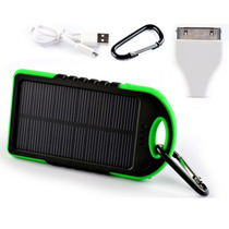 Bateria Externa Recargable Solar Para Iphone Andorid Tablet