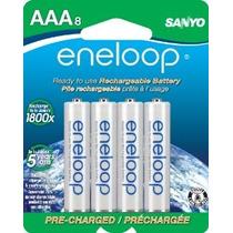 Aaa Eneloop 1800 Ciclo De Ni-mh Pre-charged Baterías Recarga