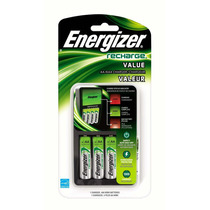 Cargador + 4 Baterias Aa Recargables Energizer Blakhelmet