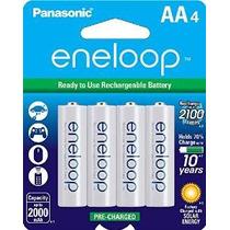 Baterías Recargables Panasonic Bk-3mcca4ba Eneloop Aa 2100 C
