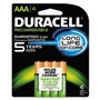 Duracell Pilas Recargables Staycharged Aaa, 4 Count (embalaj