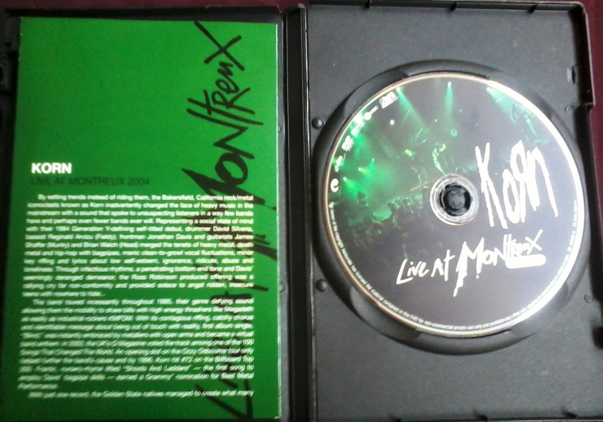 Korn Live At Montreux 2004