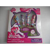 Brillos Labiales Cepillo My Little Pony! Dia Del Niño