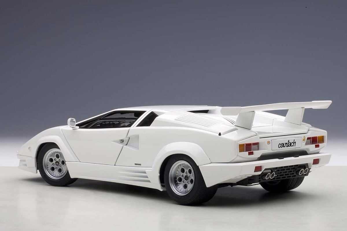 lamborghini countach 25 anniversary edition autoart 74537 3 en mercadolibre. Black Bedroom Furniture Sets. Home Design Ideas
