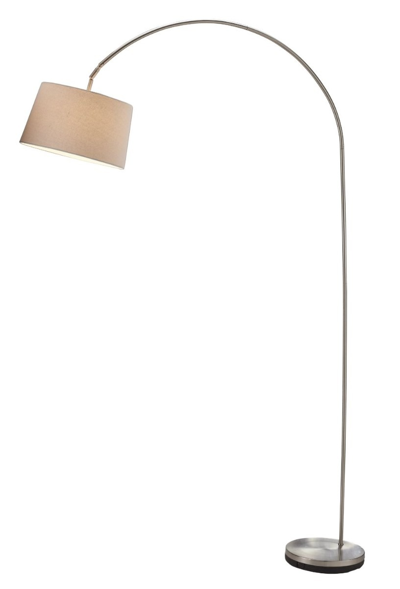 Lampara de piso arco vertical pie mn4 3 en for Lampara de piso minimalista