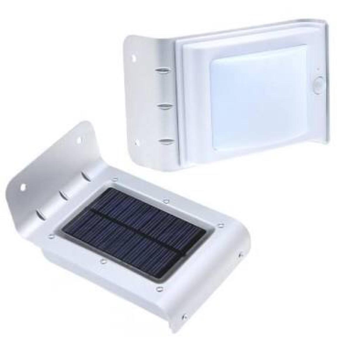Lampara solar 16 leds con sensor de luz y movimiento - Luz sensor movimiento ...