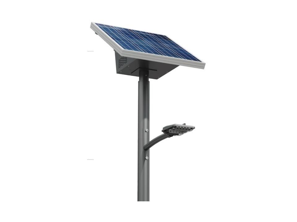 Lampara solar alumbrado publico magg 8 hrs u s 2 for Alumbrado solar exterior
