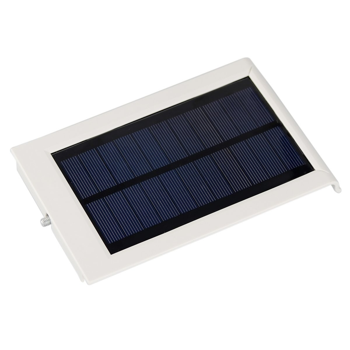L mpara solar de 12 super leds luminaria led solar for Lampara solar led