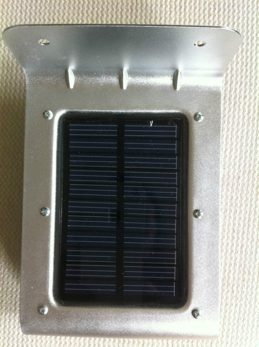 Lampara solar para exteriores leds hm4 en for Lamparas de led para exteriores