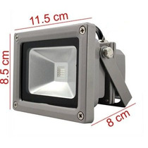 Reflector Led 10 Wats Luminaria Ext/int Luz Fria O Calida