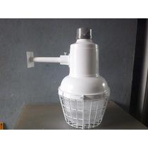 Lampara Mini Suburbana Para Exterior Con Foco Ahorrador 65w